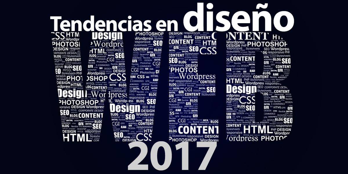 diseño web tendencias