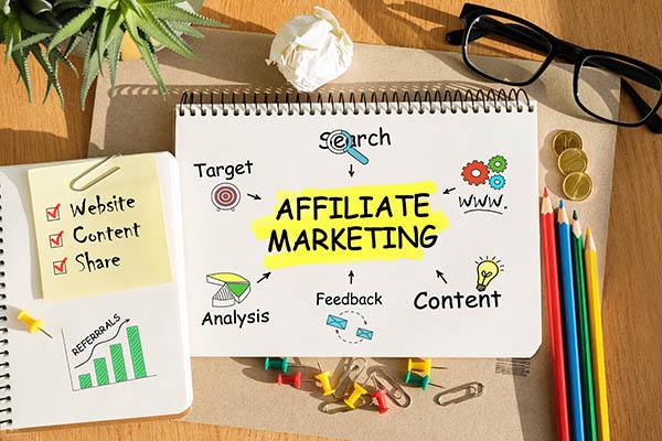 Con el marketing de afiliados tu solo eres el enlace entre el vendedor y el comprador